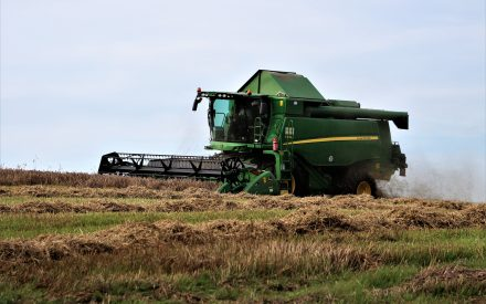 With harvest season comes combine cleaning to halt the spread of weed seeds